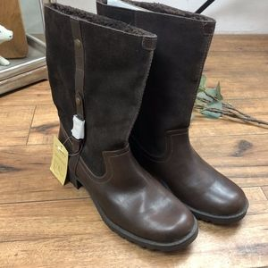 Sonoma Poly Faux Fur Boots Womens 8 med NWT